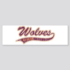 Twilight La Push Wolves Bumper Sticker