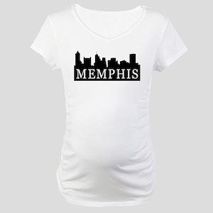Memphis Skyline Maternity T-Shirt
