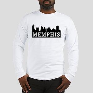 Memphis Skyline Long Sleeve T-Shirt