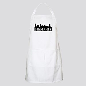 Memphis Skyline BBQ Apron