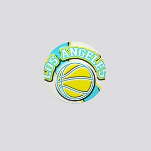Los Angeles Basketball Mini Button