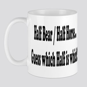 Half Bear 1 Mug