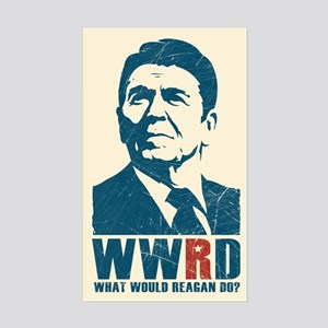 WWRD - What Would Reagan Do? Sticker