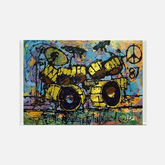 """P-Funk '87"" Rectangle Magnet"