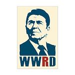 WWRD - Ronald Reagan Mini Poster Print