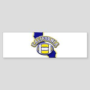 California Football Bumper Sticker