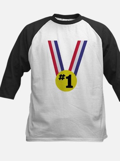 #1 Kids Baseball Jersey