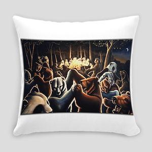 Dancing Bears Art Everyday Pillow