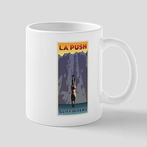 Art Deco La Push Cliff Divers Mug