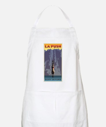 Art Deco La Push Cliff Divers BBQ Apron