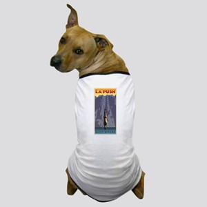 Art Deco La Push Cliff Divers Dog T-Shirt