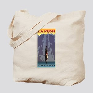 Art Deco La Push Cliff Divers Tote Bag