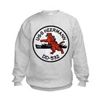 USS HEERMANN Kids Sweatshirt