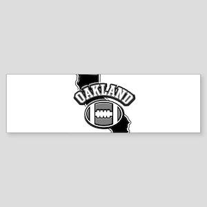 Oakland Football Bumper Sticker