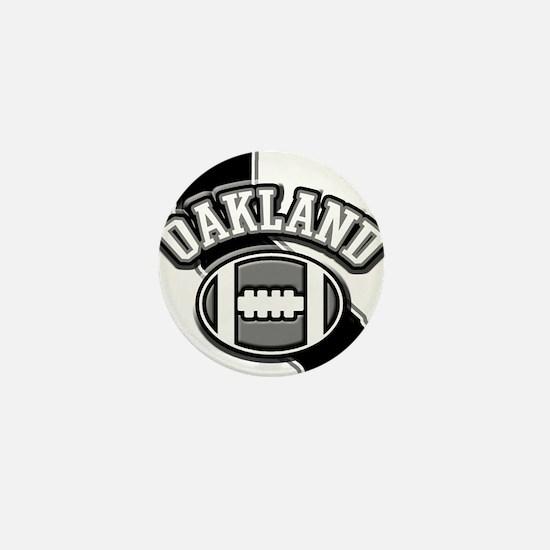 Oakland Football Mini Button