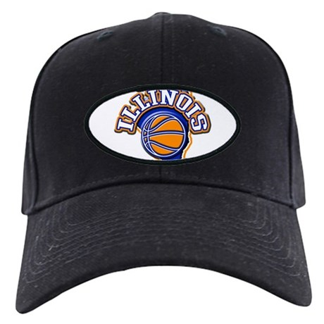 Illinois Basketball Black Cap