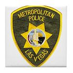 Metro Vegas PD Tile Coaster