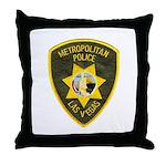 Metro Vegas PD Throw Pillow