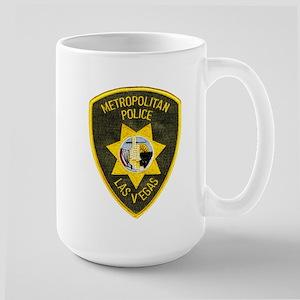 Metro Vegas PD Large Mug
