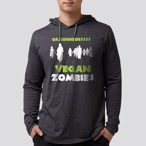 Vegan Zombies Long Sleeve T-Shirt