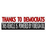 Foreign Oil Bumper Sticker