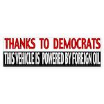 Foreign Oil Bumper Sticker (10 pk)