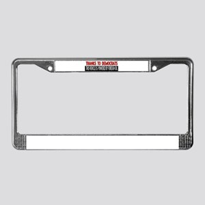 Foreign Oil License Plate Frame