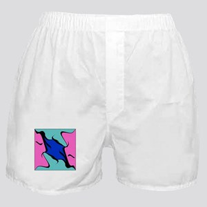 Abstract Faces Boxer Shorts