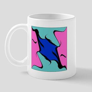 Abstract Faces Mug