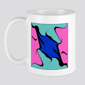 Abstract Faces Mug