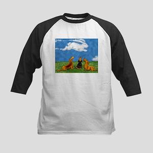 Cottontail Cloud Kids Baseball Jersey