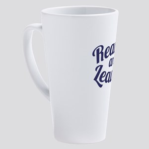 Readers are Leaders 17 oz Latte Mug