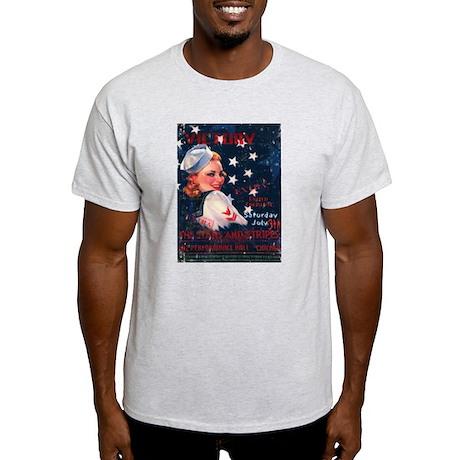 Victory Nostalgia Sailor Girl Light T-Shirt