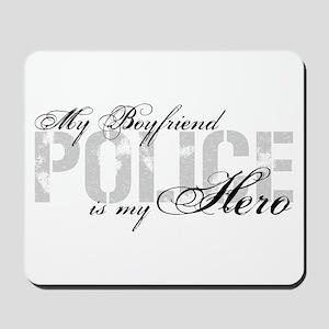 My Boyfriend is My Hero - POLICE Mousepad