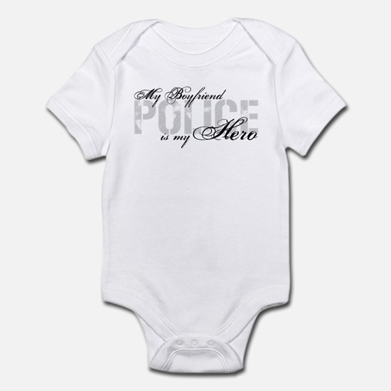 My Boyfriend is My Hero - POLICE Infant Bodysuit