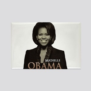 Michelle Obama Rectangle Magnet