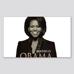 Michelle Obama Rectangle Sticker