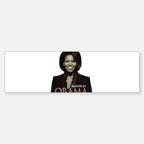 Michelle Obama Bumper Bumper Bumper Sticker