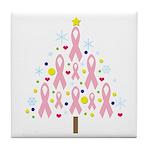 Breast Cancer Awareness Chris Tile Coaster