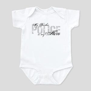 My Brother is My Hero - POLICE Infant Bodysuit