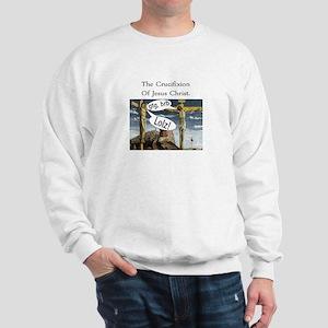 hilarious religious jesus cru Sweatshirt