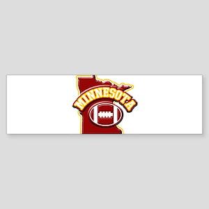 Minnesota Football Bumper Sticker