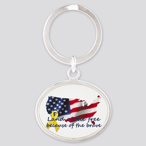 Land of the free ... Keychains