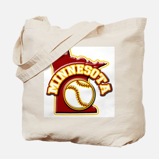 Minnesota Baseball Tote Bag