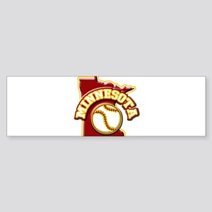 Minnesota Baseball Bumper Sticker