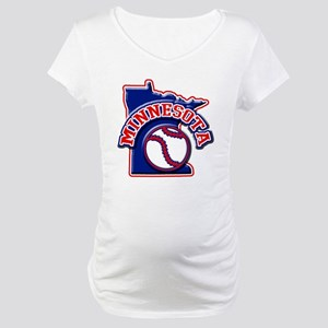 Minnesota Baseball Maternity T-Shirt