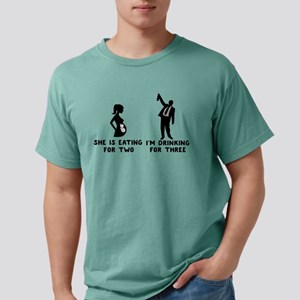 She is Eating for Two I'm Drinking for T-Shirt
