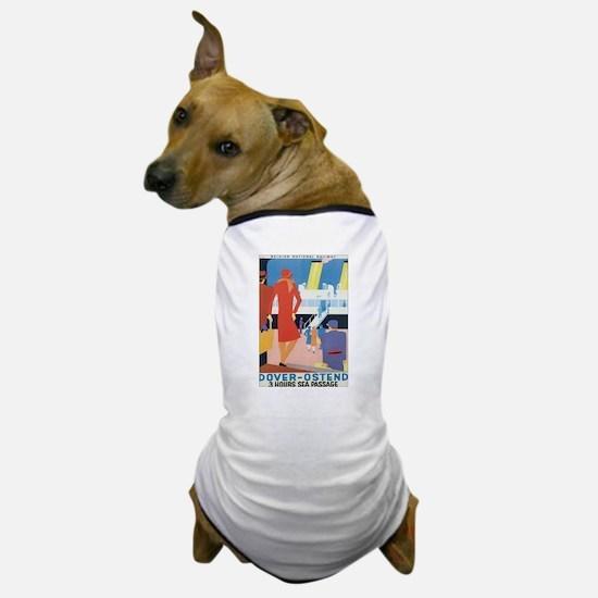 Ostend Belgium Dog T-Shirt