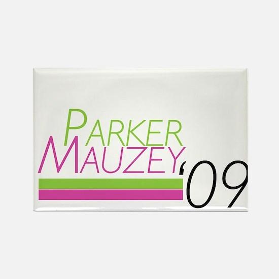 Parker/Mauzey Rectangle Magnet