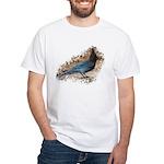 Steller's Jay White T-Shirt